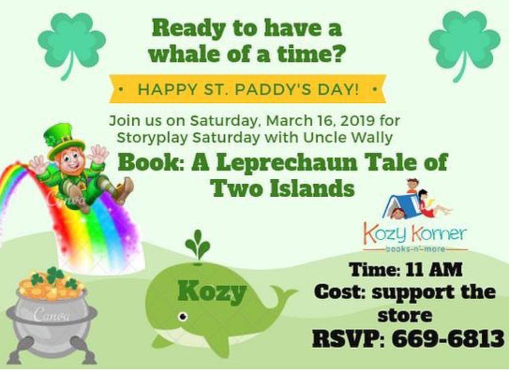 Activities – Kozy Korner Books n More